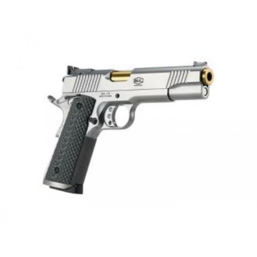 "BUL Armory 1911 Trophy (Stainless X-Line) Semi-Auto Pistol, 9mm, 5.01"" Barrel with Bushing?>"