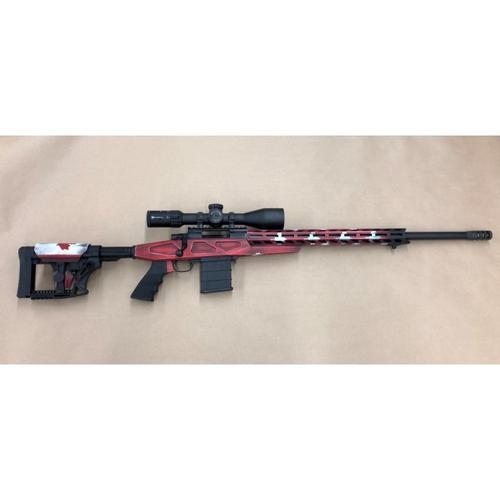 "Howa APC Canadian Predator Bolt Action Rifle Package, Canadian Flag Chassis, .223 Rem., 24"" Heavy Barrel, Nikko Diamond 4-16x50 Scope & Bipod HCRA70207CAN?>"