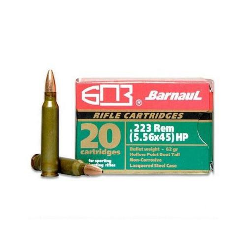Barnaul Ammunition 223 Rem 62gr Hollow Point - Box of 20?>