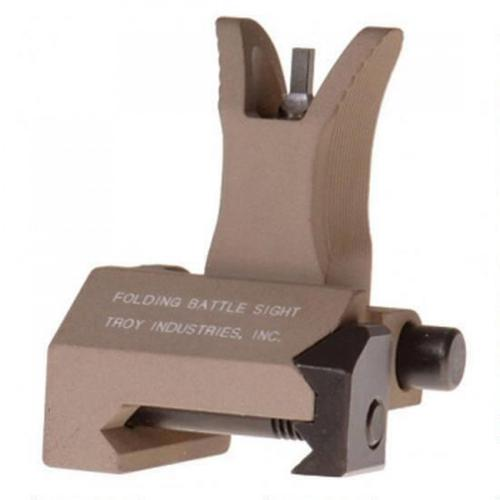 Troy Industries M4 AR-15 Front Folding Battle Sight Flat Dark Earth SSIG-FBS-FMFT-00?>