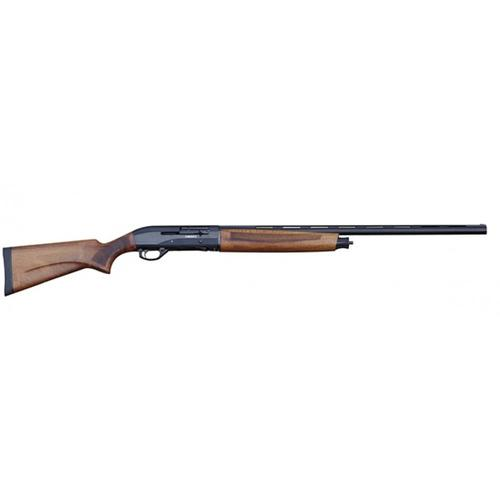 "Canuck Hunter Semi-Auto Shotgun, 20 Gauge, 28"" Barrel, Walnut Stock, Black Receiver and Bolt?>"