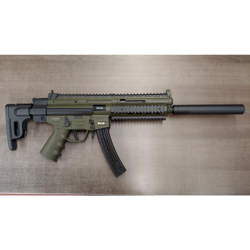 "German Sport GSG-16 Semi-Auto Rifle, .22LR, 16.25"" Barrel, OD Green, Non-Restricted?>"