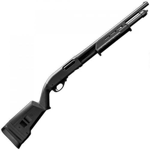 "Remington 870 Express Tactical Magpul Pump Action Shotgun 12 Gauge 18.5"" Barrel 3"" Chamber 6 Rounds Black Magpul SGA Stock and M-LOK Forend Matte Blued 81192?>"