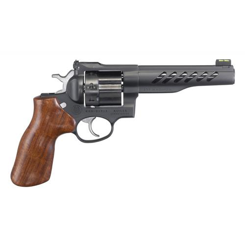 "Ruger Super GP100 Revolver, 357 Magnum, 5.5"" Barrel, 8 Rounds, Stainless Finish, 5065?>"