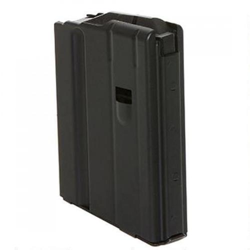 C-Products LR-308/SR-25 Magazine .308 Winchester 5 Rounds Stainless Steel Black 5X08041185CPD?>