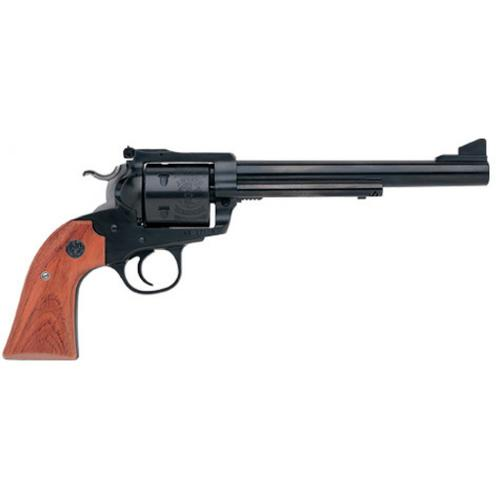 "Ruger Bisley Blackhawk Single Action Revolver, .45 Long Colt, 7.5"" Barrel, 6 Rounds, Rollmark Cylinder, Rosewood Grip, Blue Steel Finish, 0447?>"