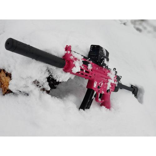 "German Sport GSG-16 Semi-Auto Rifle, .22LR, 16.25"" Barrel, Pink, Non-Restricted?>"