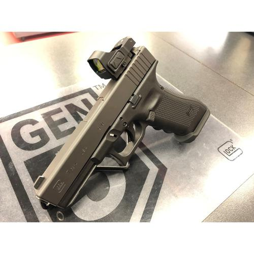 Glock 17 Gen4 Semi-Auto Pistol w/ Zev & Meprolight Upgrades, 9mm, UG1750201?>