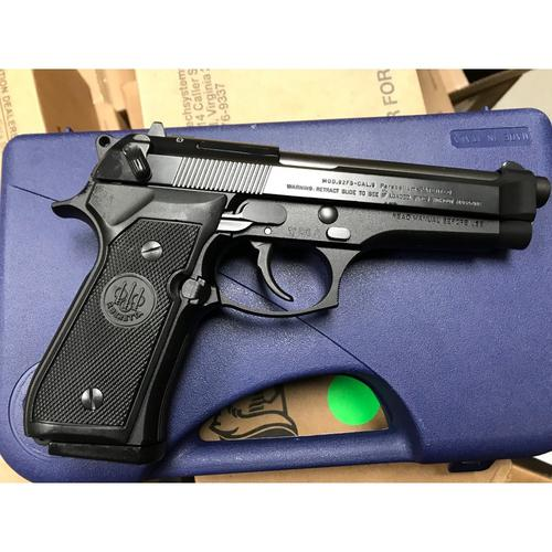 Beretta 92FS Semi-Auto Pistol, 9mm, Black Finish, 10 Round 92F300?>