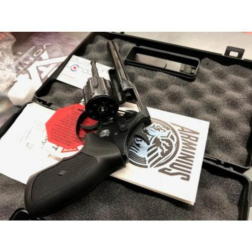 "Arminius HW7 Double Action Revolver, .22 WMR, 6"" Barrel,  Black H02ARMINIUSHW7?>"