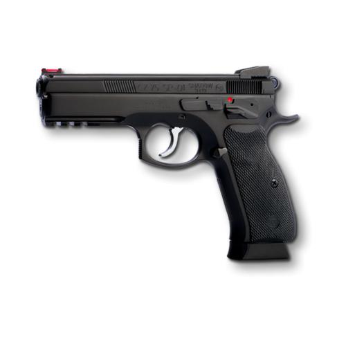 "CZ 75 SP-01 Shadow 9mm Semi-Auto Pistol, 4.5"" Barrel, 10 Round, Black 0424-0734-ADAFABX?>"