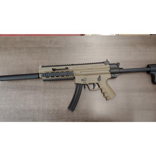 "German Sport GSG-16 Semi-Auto Rifle, .22LR, 16.25"" Barrel, Tan, Non-Restricted?>"