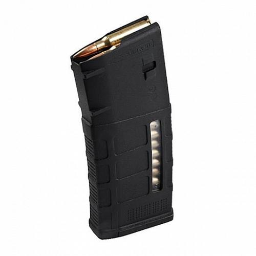 Magpul PMAG 25 LR/SR Gen M3 Window, 7.62x51 Magazine (pinned to 5), Black. MAG 292-BLK-5?>