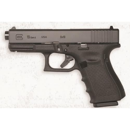 Glock 19 Gen4 Semi-Auto Pistol, 9mm Luger, Maple Leaf Slide UG195X206N?>