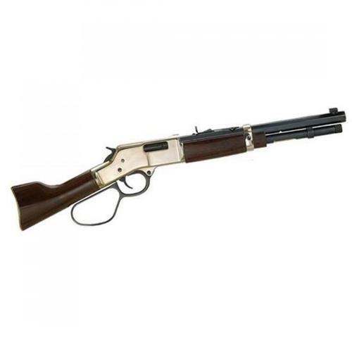 "Henry Mare's Leg Lever Action Rifle, .44 Magnum, 12.9"" Barrel, 5 Round, Brass Recever, American Walnut , H006ML?>"