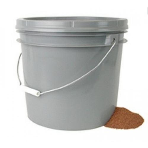 Frankford Arsenal Brass Cleaning Media Untreated Walnut Hull 18lb in 3.5 Gallon Bucket 636314?>