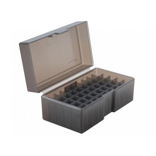 Frankford Arsenal Flip-Top Ammo Box #514 460 S&W Magnum, 500 S&W Magnum, 45-70 Government 50-Round Plastic Grey 118960?>