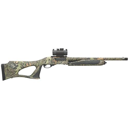 Remington 870 SPS Super Magnum Turkey Pump Action Shotgun 12 Gauge Mossy Oak Obsession Camo  Truglo 30mm Red Dot Scope 81062?>