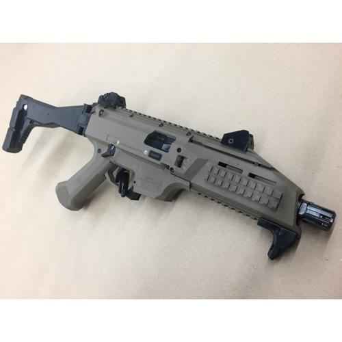 "CZ Scorpion EVO 3 S1 Semi-Auto Pistol 9mm 7"" CHF Threaded Polymer Frame FDE (Flat Dark Earth) Full Stock, Restricted?>"