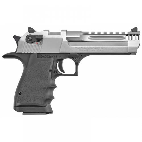 "Magnum Research Desert Eagle Mark XIX L5 Semi-Auto Pistol .50 AE 5"" Barrel Lightweight Aluminum Frame Black/Brushed Chrome Finish DE50L5BC?>"