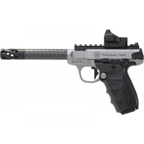 Smith & Wesson PC 22 Victory Target Pistol Carbon Fiber with Vortex Viper Red Dot, 062419?>