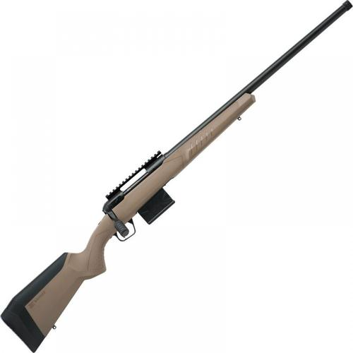 "Savage 110 Tactical Desert Bolt Action Rifle 6.5 Creedmoor 24"" Heavy Threaded Barrel Synthetic Adjustable AccuFit AccuStock Black Finish 57008?>"