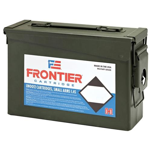 Frontier Cartridge Military Grade Ammunition 223 Remington 55 Grain Hornady Hollow Point Match - Ammo Can of 500?>