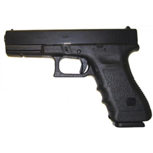 Glock 17 Gen4 Semi-Auto Pistol, 9mm, Black Finish, Fixed Sights, 10 Rounds, Polymer Grips Tenifer Finish UG1750201?>