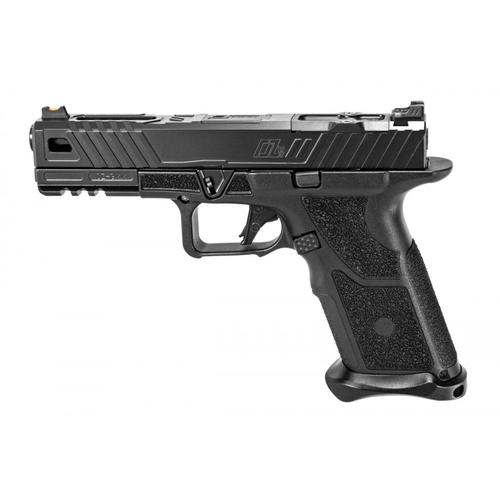 Zev Technologies OZ9 Semi-Auto Pistol, 9mm, Standard Black Slide, Bronze Threaded Barrel OZ9-STD-B-BRZ-TH?>
