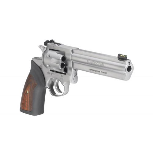 "Ruger GP100 Revolver, 357 Magnum, 6"" Barrel, 7 Rounds, Stainless Finish, 1773?>"