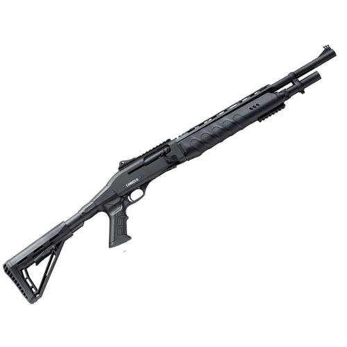 "Canuck Marauder Semi-Auto Shotgun 12 Gauge, 3"", 19"" Chrome Lined Barrel, 5+1, Telescopic Stock CMAR1219?>"
