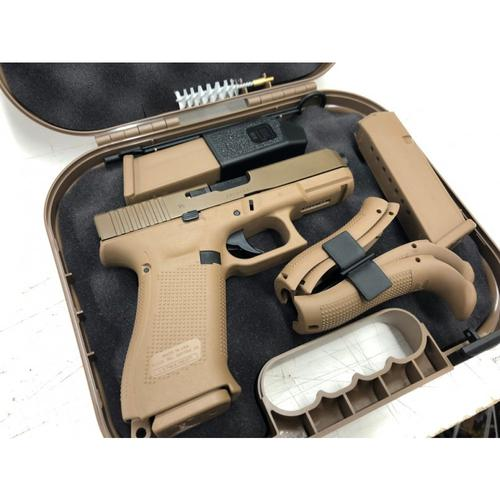 Glock 19X Gen5 Semi-Auto Pistol, 9mm Luger, 106mm Glock Factory Barrel, 10 Round, Coyote Finish?>