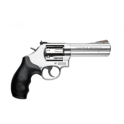 "Smith & Wesson 686 Stainless Steel 4.25"" Barrel .357 Mag, 6 Round Revolver, 164107?>"