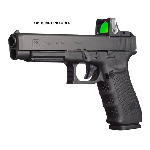 "Glock 41 Gen4 MOS Semi-Auto Pistol, .45 ACP, 5.3"" Barrel, 10 Rounds, Black, Adjustable Sights, UG4130101MOS?>"