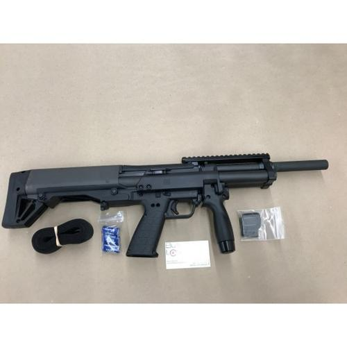 "Kel-Tec KSG-NR Pump Action Shotgun 12 Gauge 18.5"" Barrel 3"" Chamber 8 Rounds Dual Tube Magazines Downward Ejection Ambidextrous Synthetic Stock Matte Black Finish?>"