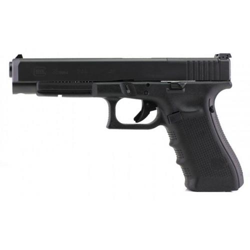 Glock 35 Gen4 MOS Semi-Auto Pistol, .40 S&W, Black Finish, Adjustable Sights, 10 Round UG3530101MOS?>