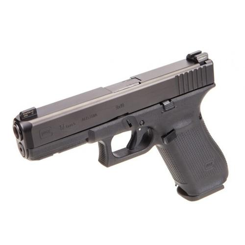 "Glock 17 Gen5 Semi-Auto Pistol, 9mm, 4.49"" Barrel, 10 Rounds, GNS (Glock Night Sights) UA1750701?>"
