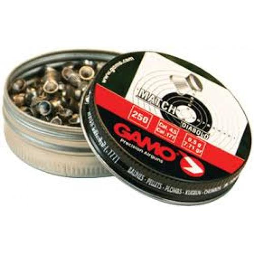 GAMO Match Pellets Flat Nose .177 Caliber 63202NL54 - Tin of 250?>