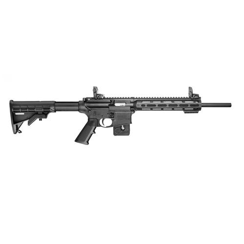 "Smith & Wesson M&P15-22 Sport Semi-Auto Rimfire Rifle, .22LR, 16.5"" Barrel, 10 Rounds, Fixed Stock - Not Adjustable, 10207, Restricted?>"