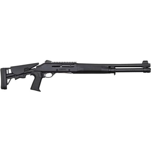 "Canuck Operator Semi-Auto Shotgun, 12 Gauge, Black, 18.6"" Barrel COP1219?>"