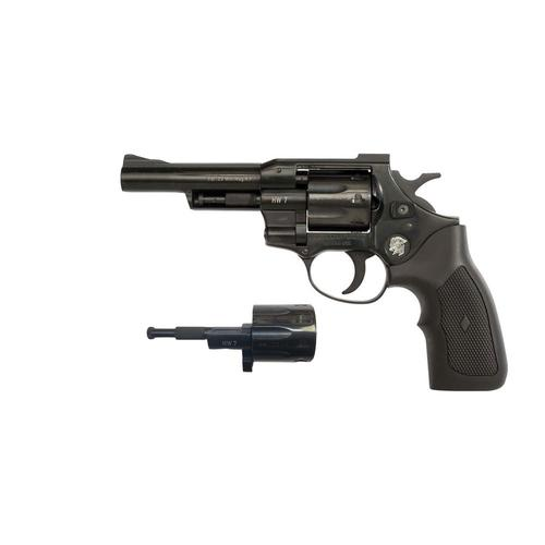 "Arminius HW7 Duo Double Action Revolver, 22LR + 22WMR, 4.2"" Barrel,  Black 50.70400D-00?>"