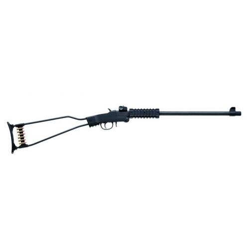 Chiappa Little Badger Folding Rifle .22LR Single-Shot, Wire Stock, Quad Rail, 500.092?>