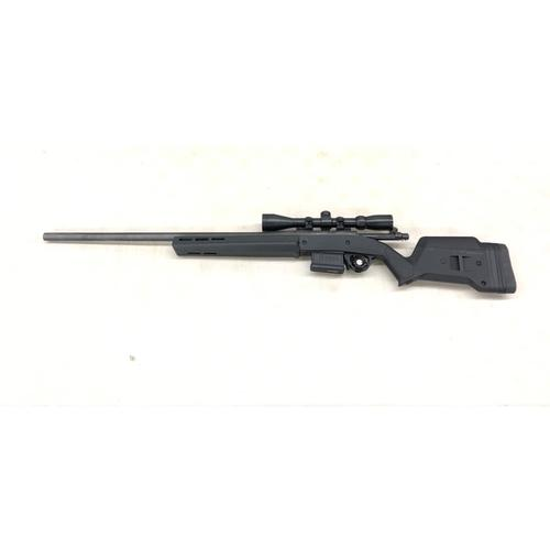 "CUSTOM: Remington 700 SPS Bolt Action 22-250 Rem, 26"" Barrel, Magpul Hunter Black Stock, 4-12x Scope?>"