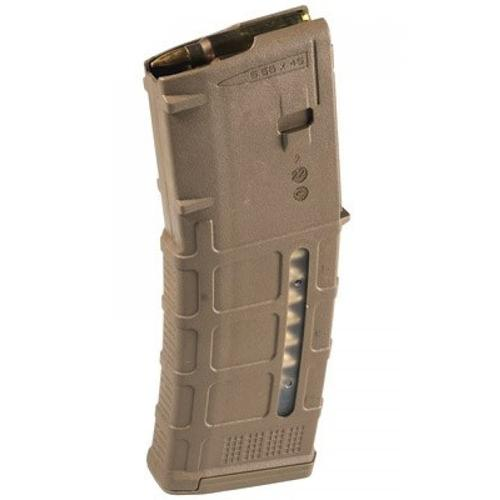 Magpul PMAG 5/30 AR-15 Magazine, .223/5.56, 5 Rounds, Gen M3, FDE Finish, Window MAG556-MCT?>