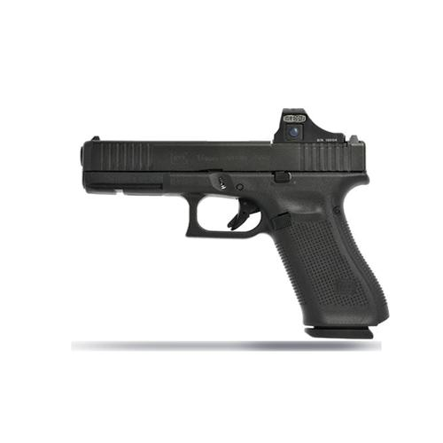 "Glock 17 Gen5 MOS Semi-Auto Pistol, 9mm, 4.49"" Barrel, 10 Rounds, AmeriGlo Bold Night Sights, Optics Ready, UA175S301MOSAB?>"