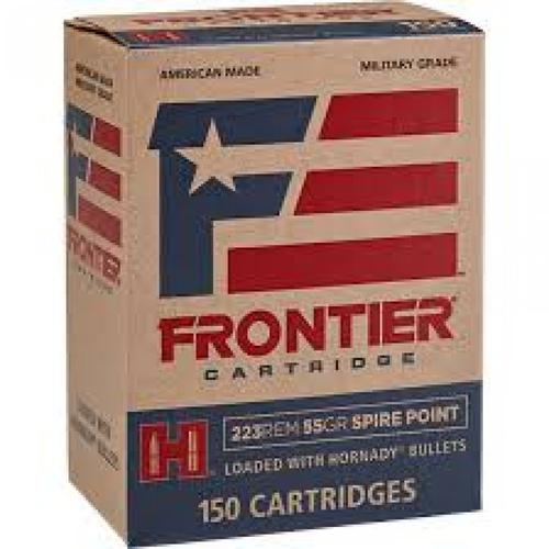Frontier Cartridge Military Grade Ammunition, 223 Remington 55 Grain Spire Point FR122 - Box of 150?>