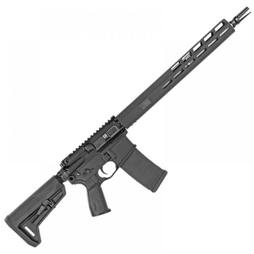 "Sig Sauer M400 Tread Semi-Auto Rifle, 5.56 NATO, 16"" Barrel, Black, 5 Rounds, RM400-16-TRD, Restricted?>"