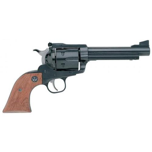 "Ruger Super Blackhawk Single Action Revolver, .44 Magnum, 5.5"" Barrel, 6 Rounds, Adjustable Sights, Wood Grips, Blue Steel Finish, 0810?>"