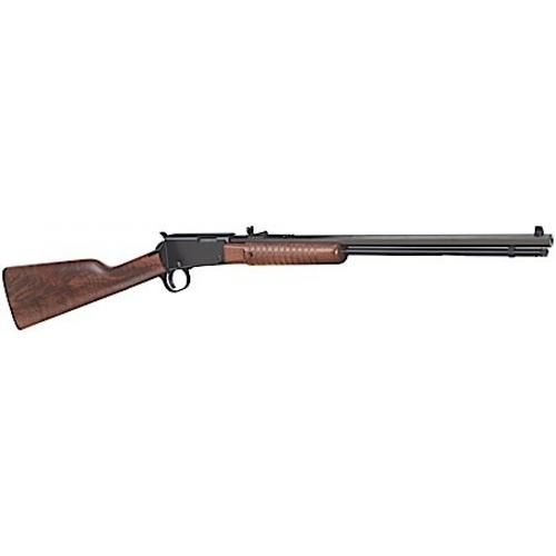 "Henry Octagon Pump Action .22LR Rifle, 20"", 15+1 rounds, American Walnut, H003T?>"
