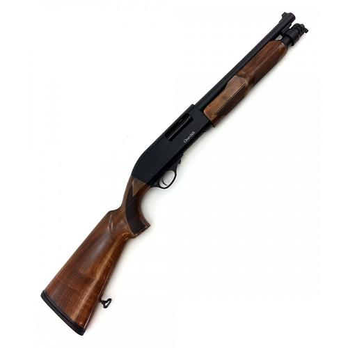 "Churchill Pump Action Shotgun 12 Gauge, 12.6"" Barrel, Walnut Stock K61253?>"
